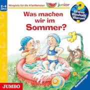 CD WIESO? WESHALB? WARUM? Junior Junior  Was machen wir im Sommer?, 1 Audio-CD