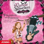 CD Die Vampirschwestern black und pink - Vollmondnacht mit Fledermaus, 2 Audio-CDs