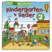 Die 30 besten Kindergartenlieder 2 (CD)