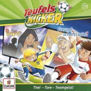 Teufelskicker, Folge 72: Freundschaftsspiel, CD, ab 6 Jahre