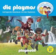 Die Playmos, Folge 61: Aufregende Abenteuer mit den Explorers, CD, ab 6 Jahre