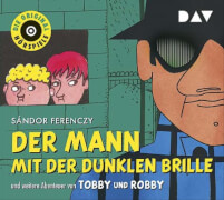 CD Mann mit dunkler Brille