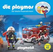 Die Playmos - Folge 62: Der falsche Feuerwehrmann (CD)