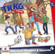 Kosmos CD TKKG Junior 07 Zwisch. Gauklern+Ganov