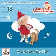 CD Sandmännchen 18: Haustiere