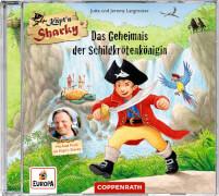 CD Hörspiel: K.Sharky - Das Geheimnis d. Schildkrötenkönigin
