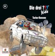 Kosmos CD Die drei ??? Kids 81 Turbo-Rennen