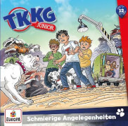 Kosmos CD TKKG Junior 12 Schmierige Angelegenheiten
