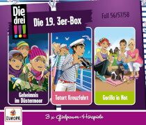 Kosmos CD Die drei !!! 3er-Box Folgen 56 - 58