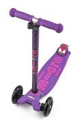 Kickboard maxi micro Deluxe lila mit T-Lenker