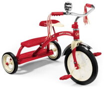 RadioFlyer® CLASSIC RED DUAL DECK TRICYCLE