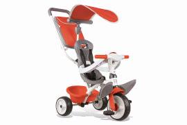 Dreirad Baby Balade Rot