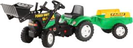 FALK Tret-Traktor mit Hänger und Lader grün, 2 - 5 Jahre