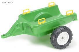 FALK Anhänger grün für Traktoren 2-5 Jahre