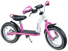 Hudora Laufrad Cruiser Girl Alu, 12 Zoll, weiß /pink