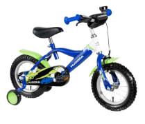 Hudora Kinderfahrrad, 12 Zoll, grün/blau