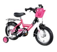 Hudora Kinderfahrrad, 12 Zoll, pink