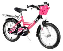 Hudora Kinderfahrrad, 16 Zoll, pink