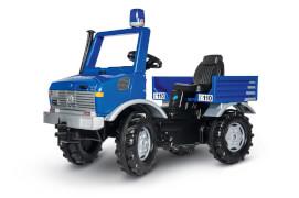 rollyUnimog Polizei mit Blaulicht
