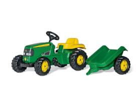 rollyToys John Deere Traktor mit Anhänger