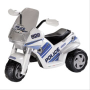 Peg-Pérego 6V Raider Polizei blau / weiß