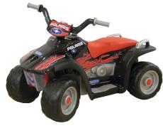 Peg-Pérego 6V Polaris Sportsman 400 schwarz / rot