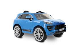 PORSCHE MACAN TURBO 6V SUV , 6V, RC, blau