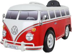 Rollplay VW Bus Type 2 (T1), 6V, RC, red
