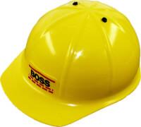Bauhelm Boss, gelb Durchmesser ca. 20 cm