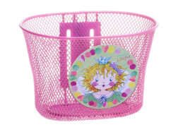 Metall Korb Lillifee pink, sortiert
