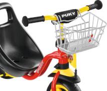 Puky 9119 Lenkerkorb für Dreiräder/Roller LKDR silber