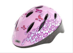 Abus Radhelm S 45-50 Smooty pink butterfly