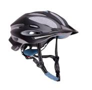 Hudora Fahrradhelm Granit, Gr. 58-61, schwarz/blau