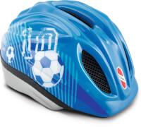 Puky 9534 Fahrradhelm PH-1-M/L blau Fußball