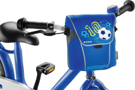 Puky 9725 Lenkertasche LT 2 blau Fußball