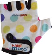 kiddimoto® Fahrrad Handschuhe Pastel Dotty Gr. S (2-5 Jahre)