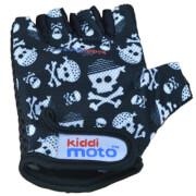 kiddimoto® Fahrrad Handschuhe Skullz Pirat Gr. S (2-5 Jahre)