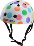 kiddimoto® Fahrrad Helm Pastel Dotty Gr. S (2-5 Jahre)