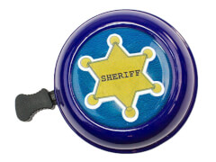 bbeBells Fahrradklingel Sheriff 55 mm