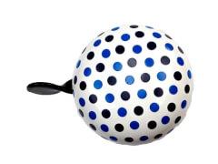 bbeBells Fahrradklingel Dots blau 60 mm
