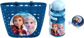 Disney Frozen Die Eiskönigin 2 Korb, Trinkflasche, Klingel Set