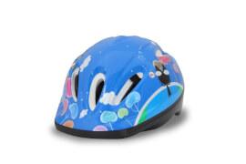 JAMARA 460630 Kinder Fahrradhelm M blau