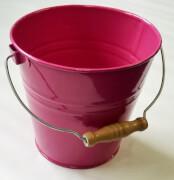 Kinder-Metall-Eimer,1,5l, farblich sortiert