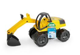 LENA® Starke Riesen Sitz-Bagger, gelb/schwarz
