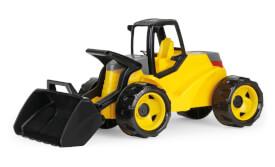 LENA® Starke Riesen Schaufellader Pro, gelb/schwarz, Schaukarton
