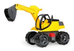 LENA® Starke Riesen Bagger Pro, gelb/schwarz, Schaukarton