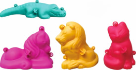 3D Kreativ-Formen klein 4-teil.