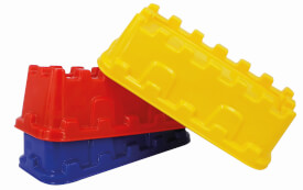 Spielstabil 7423 Sandform Burgmauer, Sandspielzeug, ca. 6x8x19 cm, ab 3 Jahren