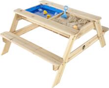 Plum® Holztisch mit Sandkasten und Wasserbecken