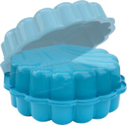 DUBLINO Sand/Wassermuschel 2-tlg. Blau